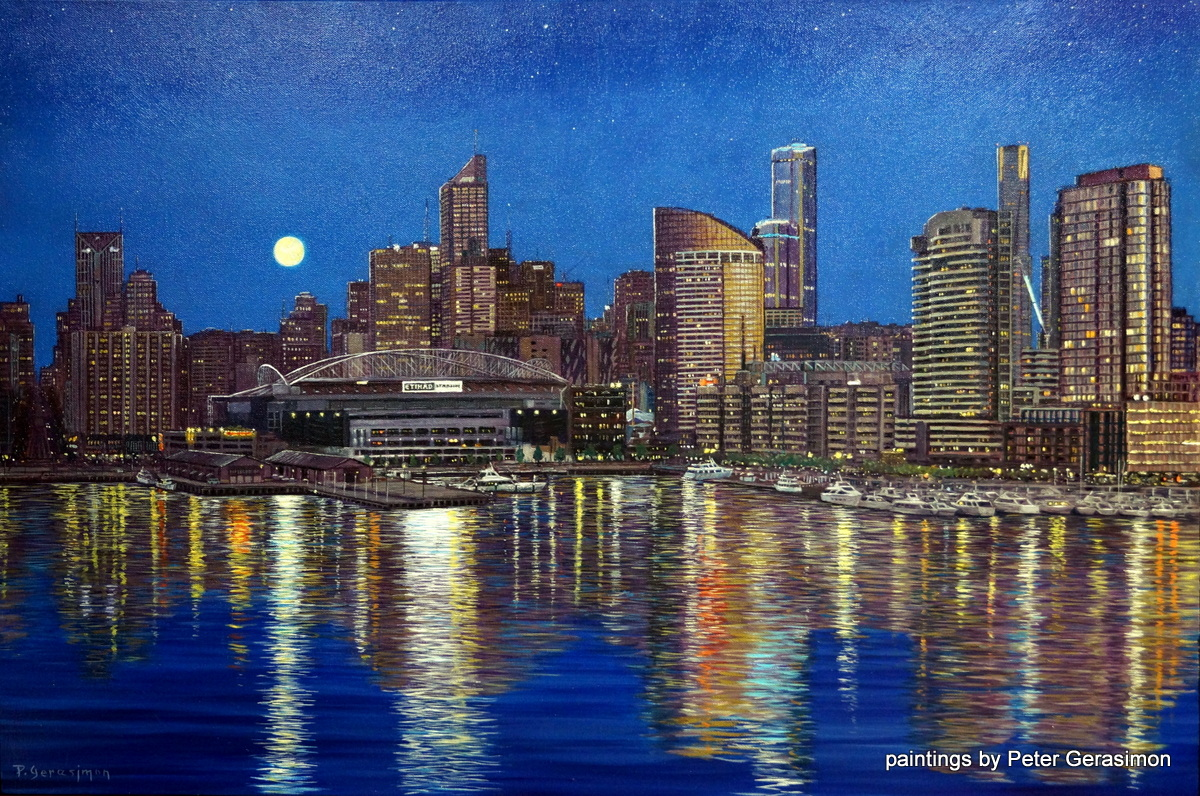 Melbourne Australia Paintings For Sale